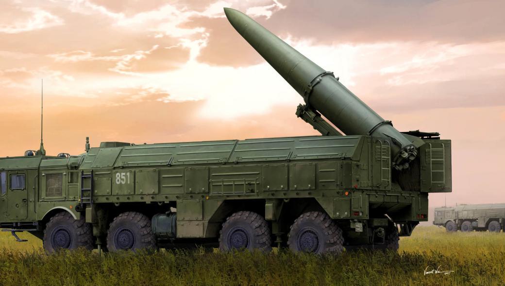 Κλιμάκωση: Η 119η ταξιαρχία πυραύλων Iskander από τα Ουράλια απέναντι από το Χάρκοβο!
