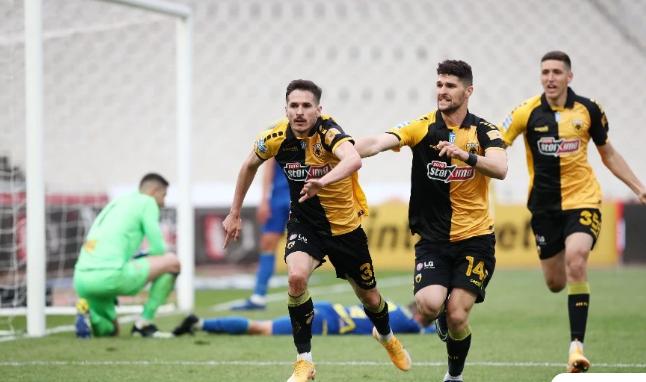 Νίκη στο τέλος για την ΑΕΚ επί του Αστέρα Τρίπολης