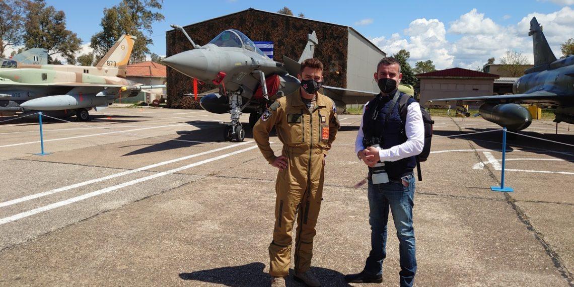 Γάλλος πιλότος Rafale από τον «Ηνίοχο»: Είμαστε ενθουσιασμένοι που σας δείχνουμε το μελλοντικό σας μαχητικό