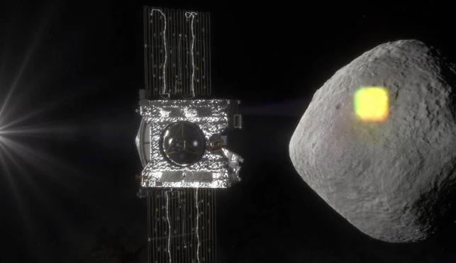 «Πλώρη» για τη Γη βάζει το σκάφος OSIRIS-REX της NAS