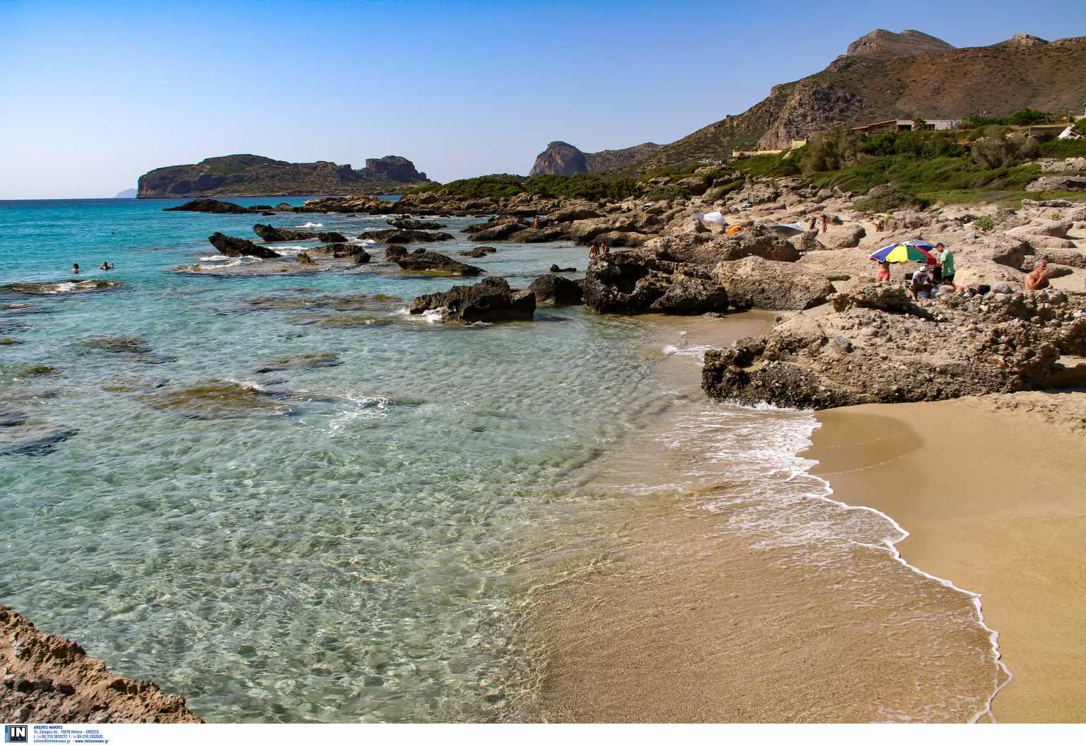 Οι Νοτιάδες ανέβασαν τη θερμοκρασία στη Βόρεια Κρήτη στους 29,2 βαθμούς