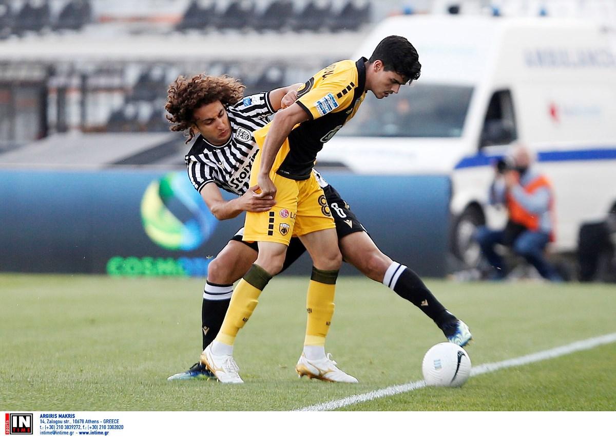 Οι Θεσσαλονικείς νίκησαν με 2-1 την ΑΕΚ στην Τούμπα
