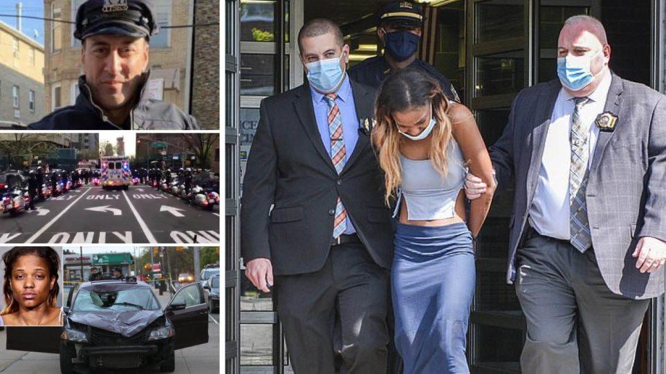 Νέα Υόρκη: Η γυναίκα που σκότωσε τον ομογενή αστυνομικό στo Κουίνς έλεγε «f@ck the police» κι έπινε σφηνάκια λίγες ώρες πριν