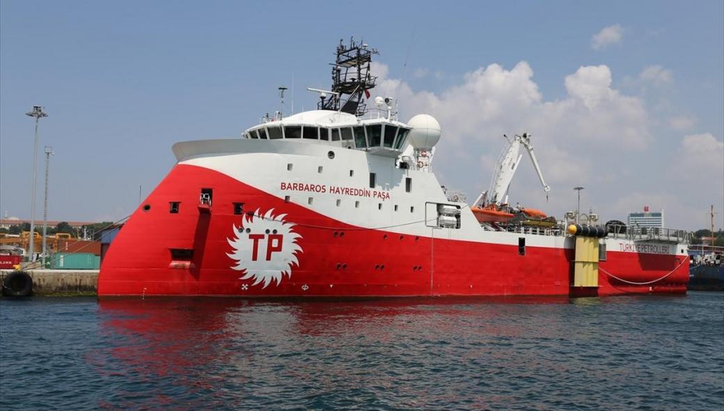 Η Τουρκία έβγαλε ξανά το Barbaros - Πλέει προς νοτιοανατολική Μεσόγειο