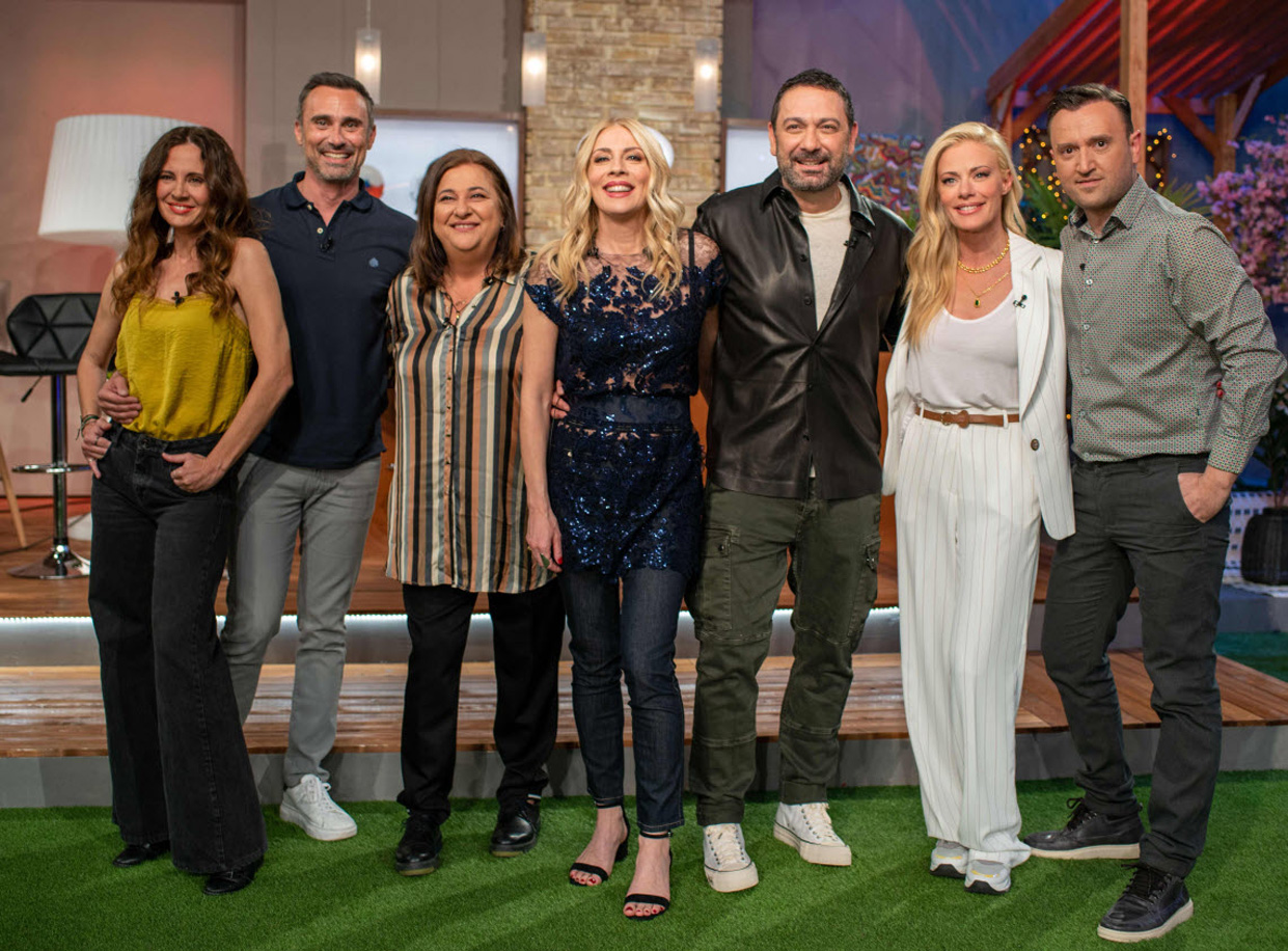 Στο Παρά Πέντε: η παρέα ενώθηκε για Celebrity Game Night