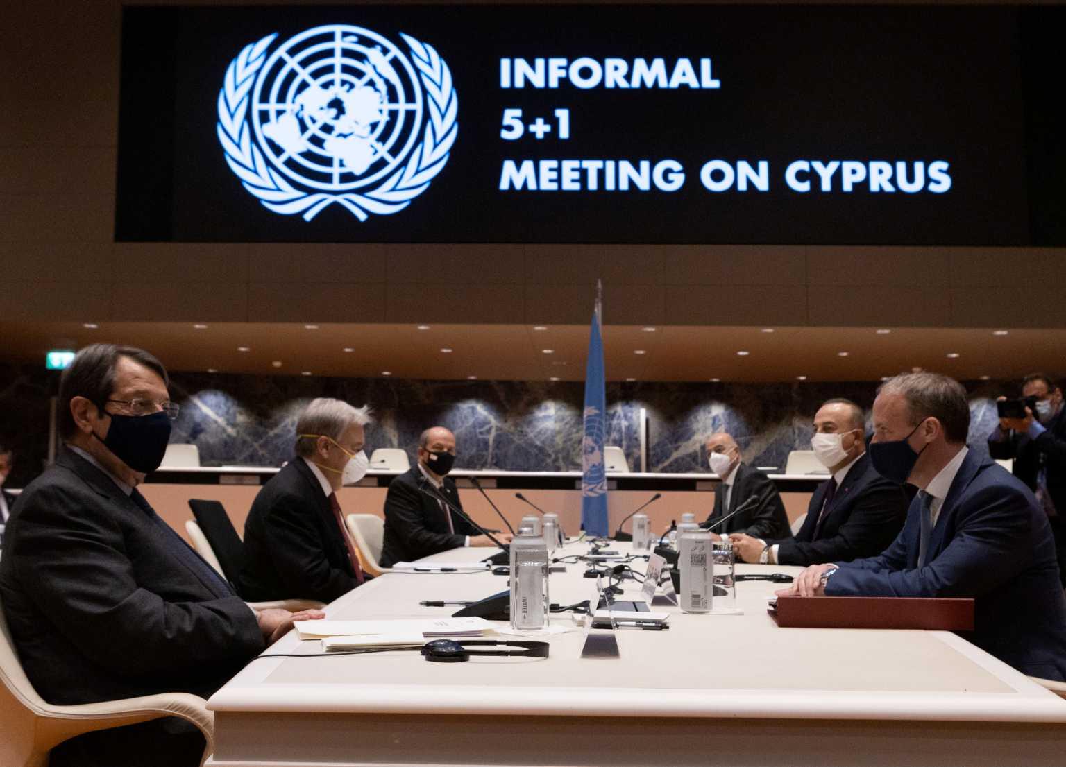 Κυπριακό: Αδιέξοδο στην Γενεύη – Νέες συναντήσεις σε 2 μήνες