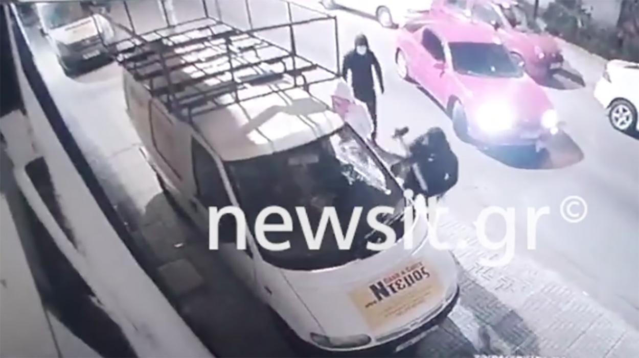 Με ΙΧ ως πολιορκητικό κριό μπουκάρουν σε κατάστημα – Βίντεο ντοκουμέντο