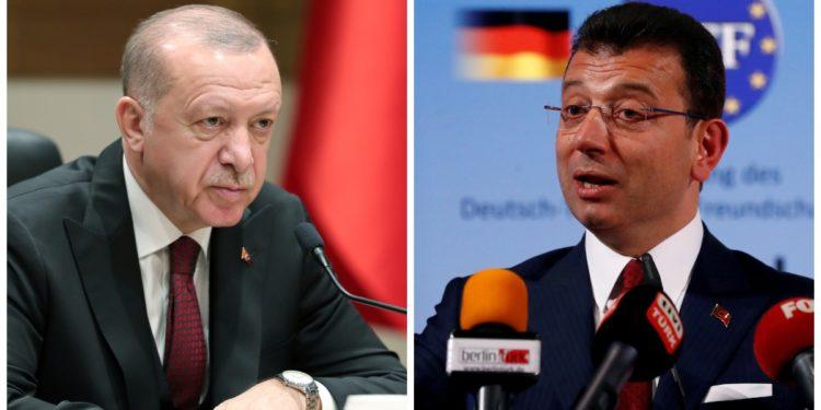 Διπλή «ήττα» Ερντογάν σε δημοσκόπηση: Τον ξεπερνούν σε ποσοστά Ιμάμογλου και Γιαβάς