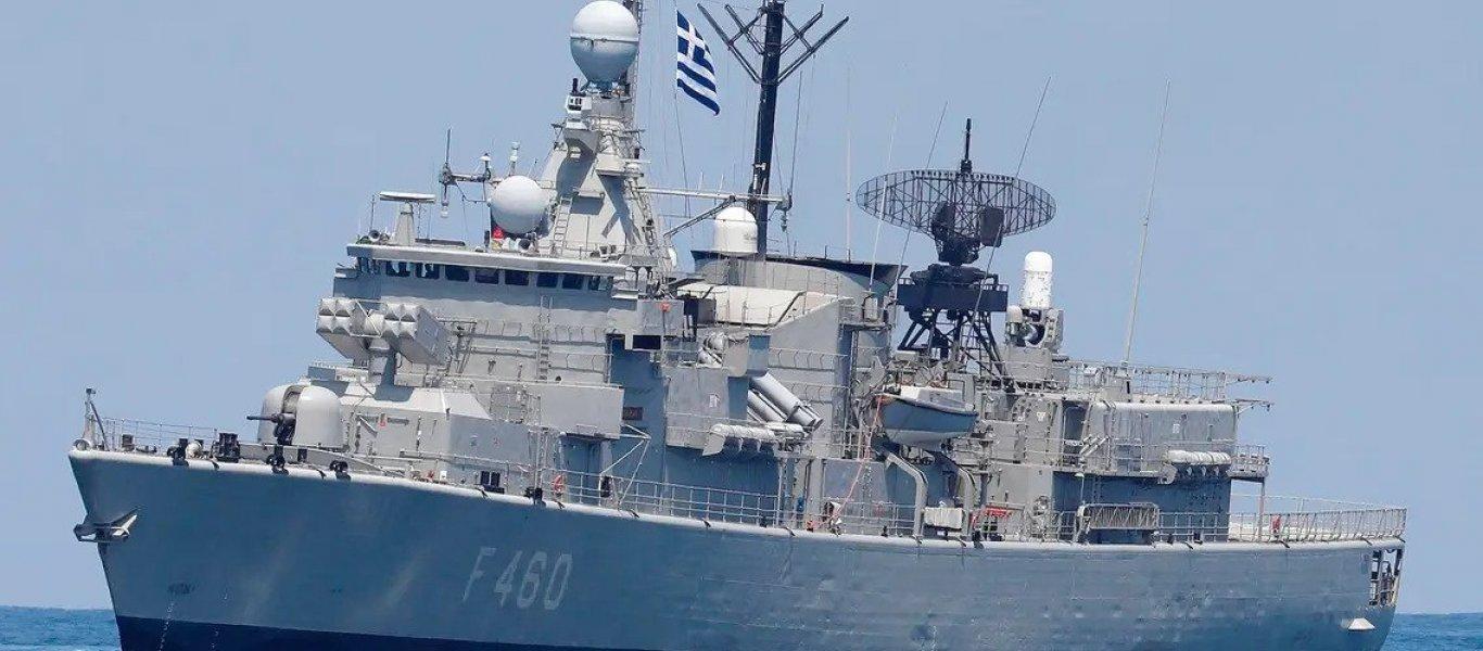 Τουρκική φρεγάτα επιχείρησε να διώξει γαλλικό ερευνητικό σκάφος μέσα στην ελληνική ΑΟΖ (upd)