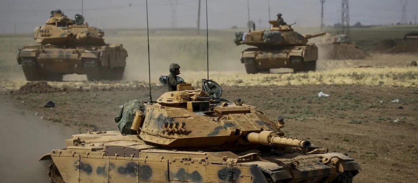 EKTAKTO: Μεγάλες τουρκικές στρατιωτικές δυνάμεις εισέβαλαν στο Βόρειο Ιράκ