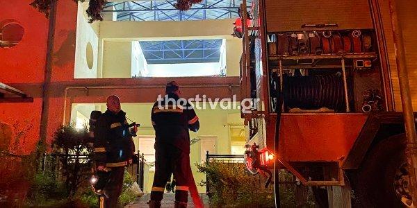 Θεσσαλονίκη: Φωτιά σε ίδρυμα με ΑμεΑ στην Πυλαία – Απεγκλωβίστηκαν 10 παιδιά