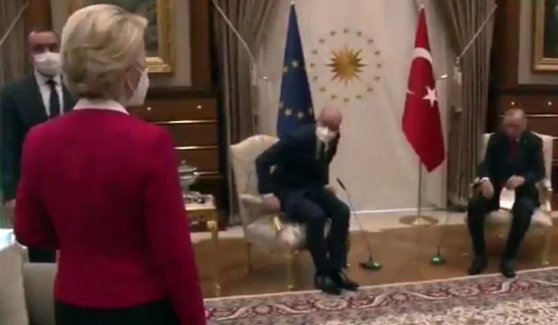 Sofagate: Συνεχίζονται οι αντιδράσεις, οργή στην Τουρκία για το «δικτάτορας» που είπε ο Ντράγκι για τον Ερντογάν
