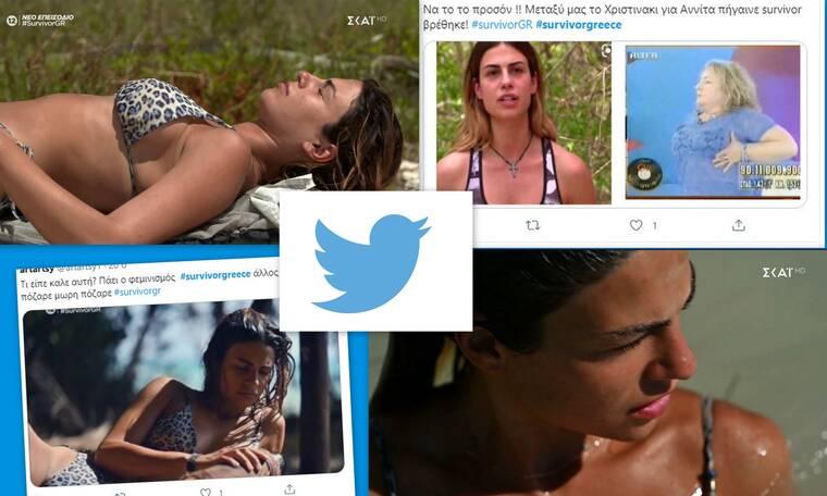 Survivor: Η Χριστίνα Κεφαλά εστίασε στα… όπλα της και το twitter τη τα έψαλλε για τα καλά