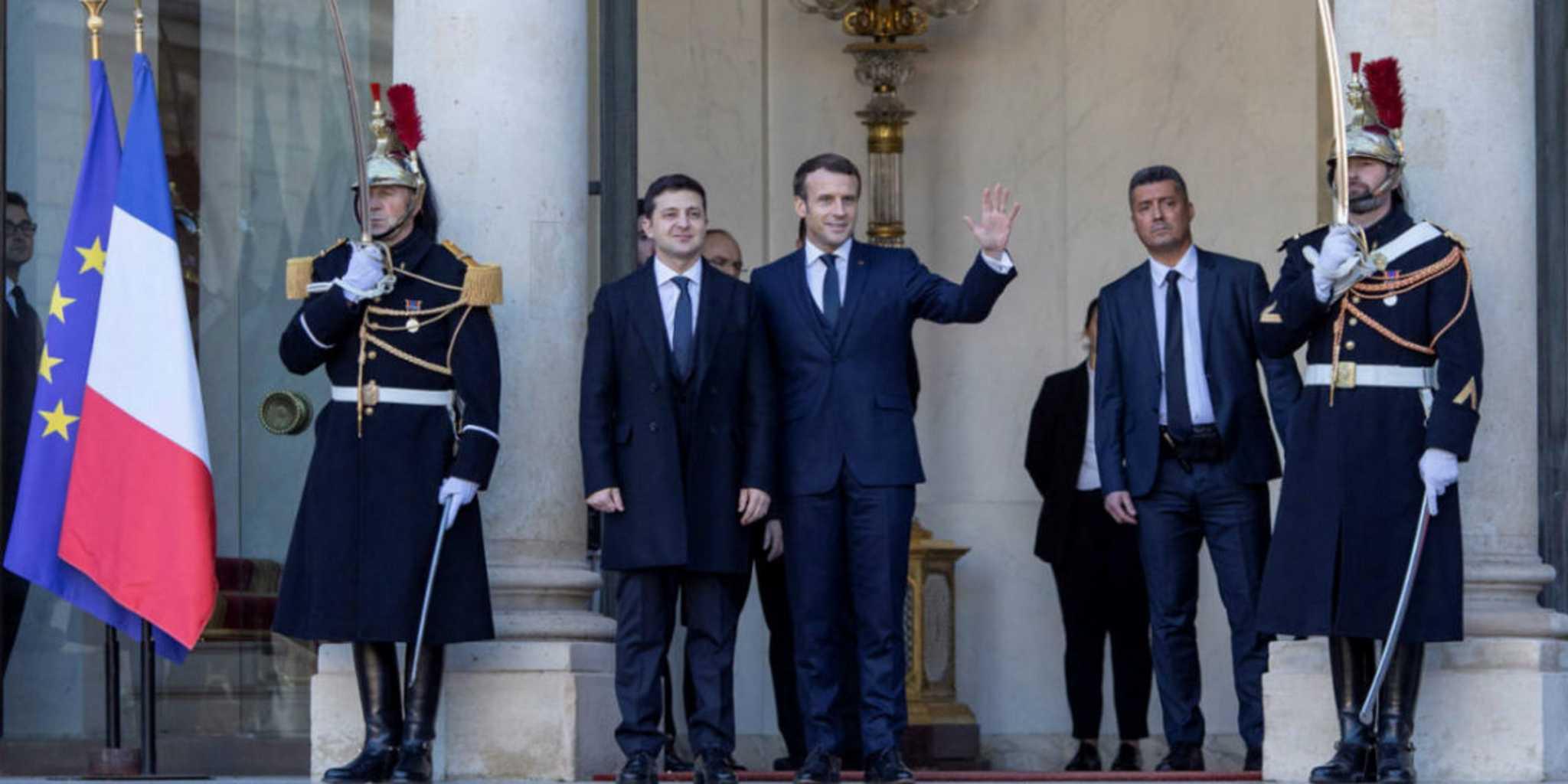 Τετ-α-τετ Μακρόν και Ζελένσκι με θέμα την ανατολική Ουκρανία και στο βάθος… Rafale;