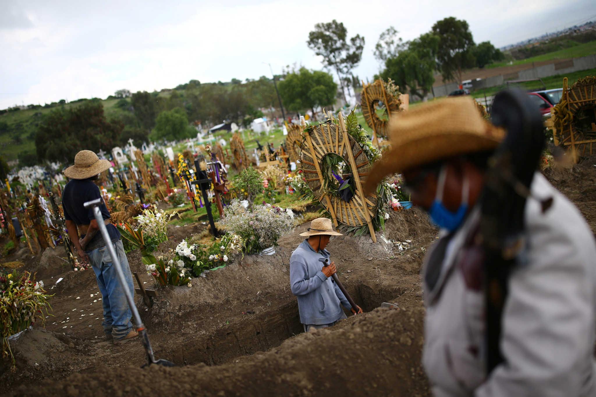 Μεξικό: 4.293 κρούσματα κορονοϊού και 592 νεκροί σε ένα 24ωρο
