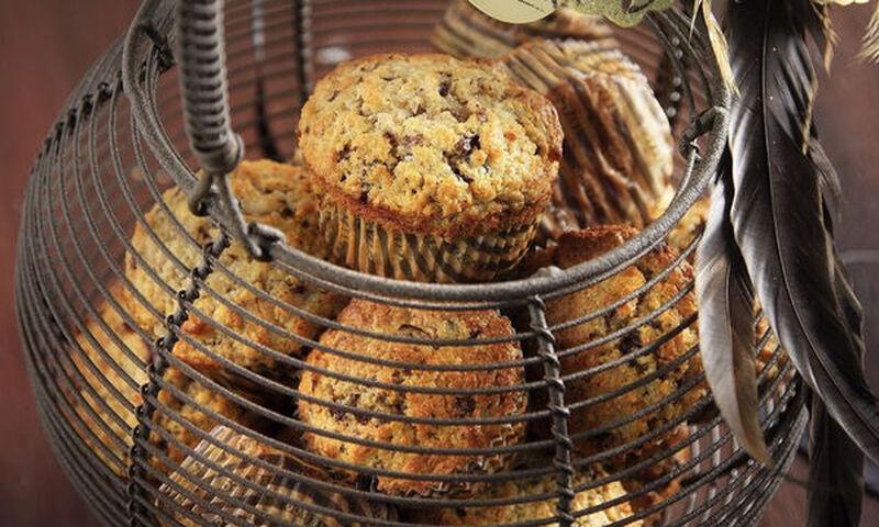 Άκης Πετρετζίκης: Muffins με αχλάδια και σοκολάτα