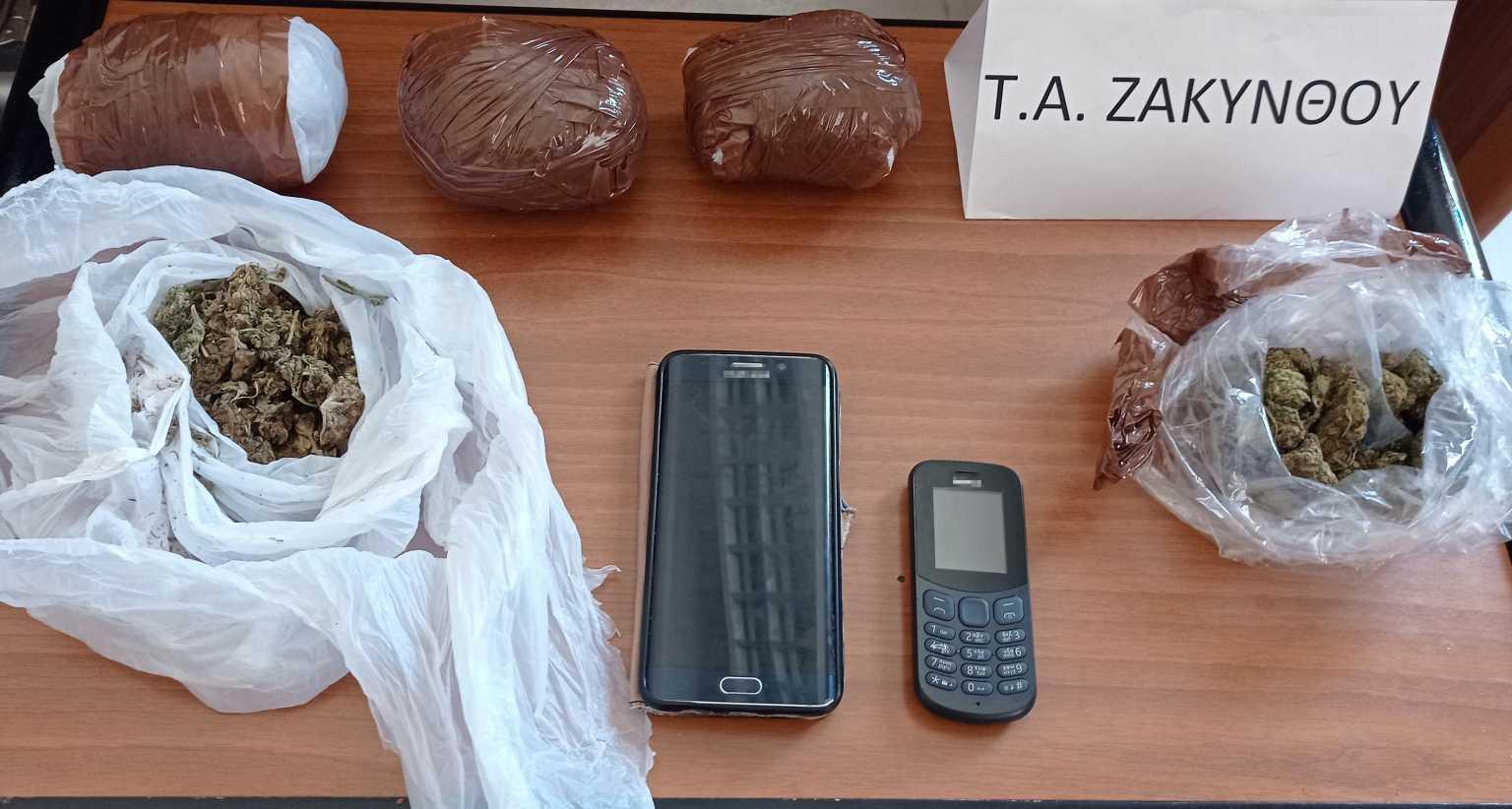 Ζάκυνθος: Χειροπέδες σε αλλοδαπό για διακίνηση ναρκωτικών – Τι βρήκαν στο σπίτι του