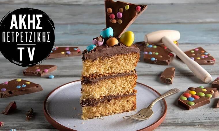 Πασχαλινή τούρτα από τον Άκη Πετρετζίκη