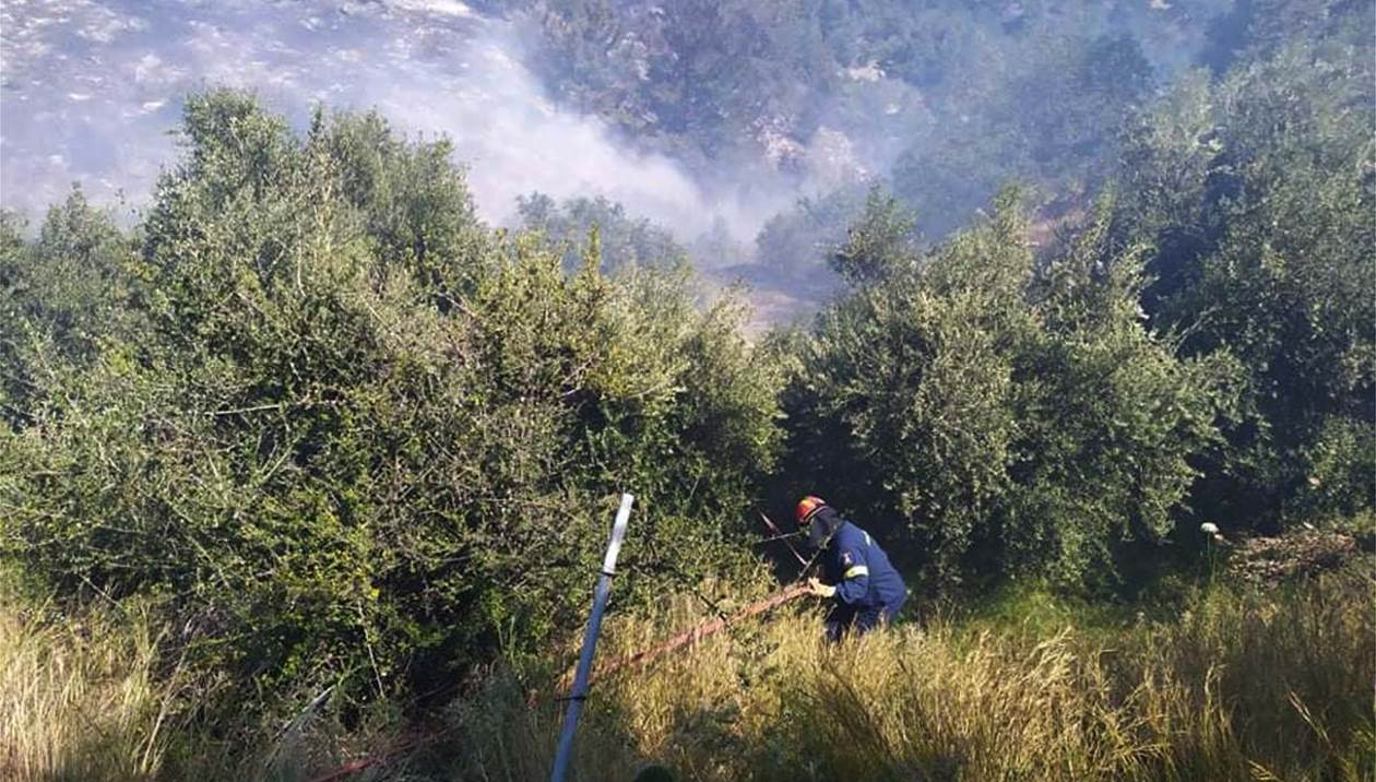Μεγάλη πυρκαγιά στα Δυτικά της Ιεράπετρας