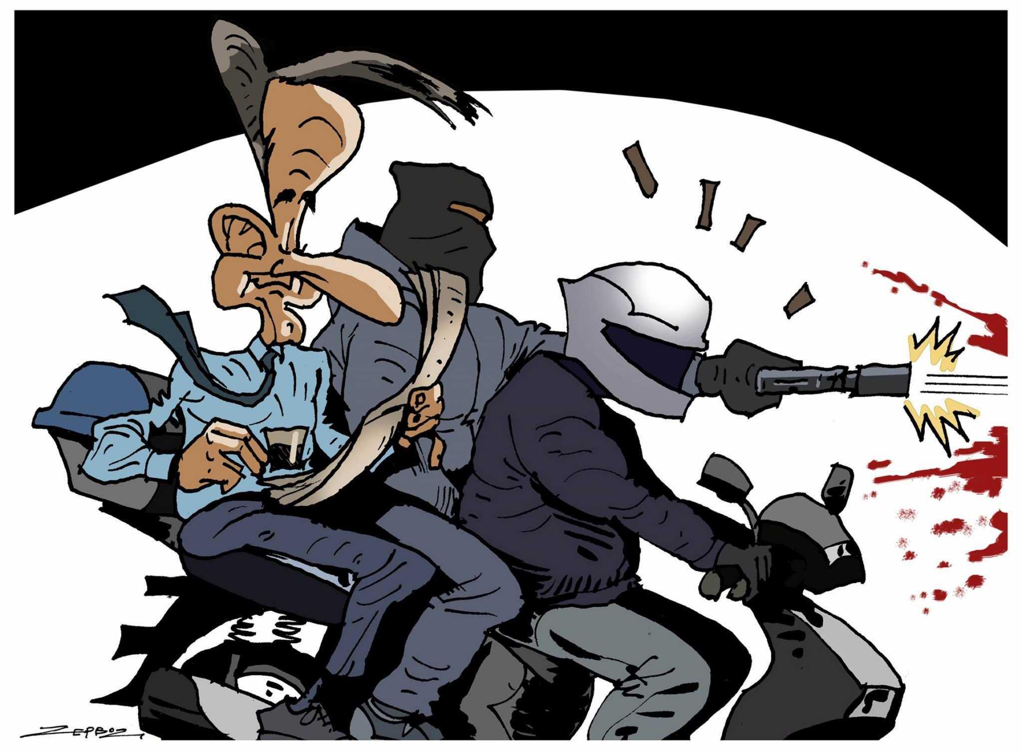 Δολοφονία Καραϊβάζ: Η απάντηση του σκιτσογράφου της ΕφΣυν για το σκίτσο με Μητσοτάκη