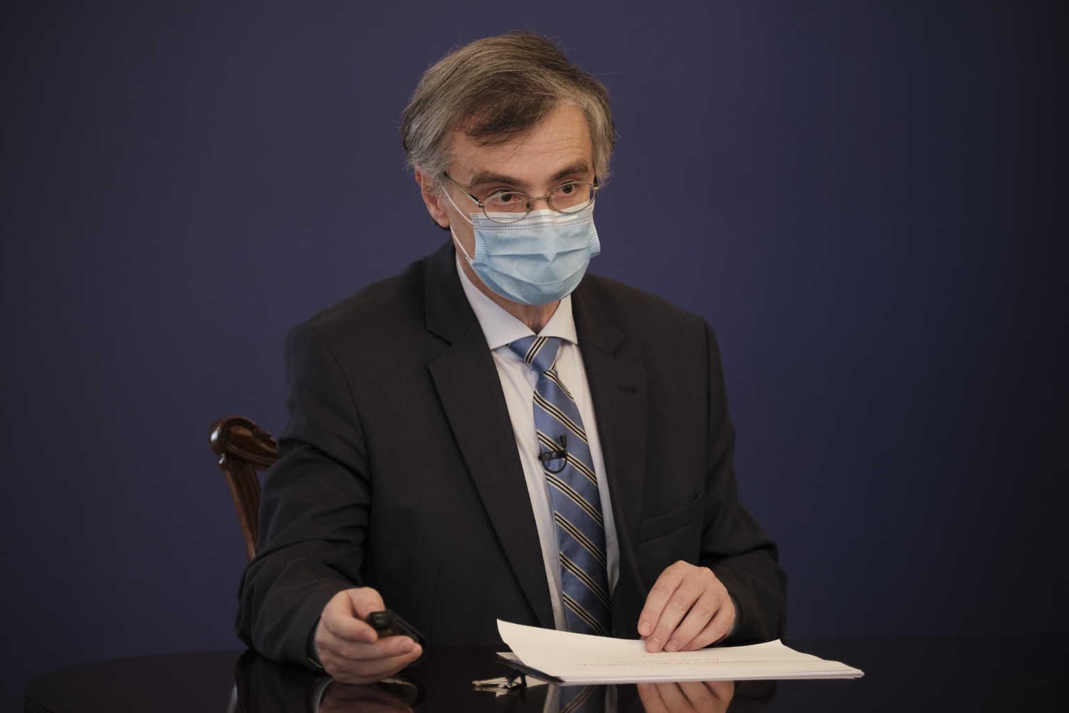 Σωτήρης Τσιόδρας από τα παλιά: Δηλώσεις στις 13:00 για τους εμβολιασμούς