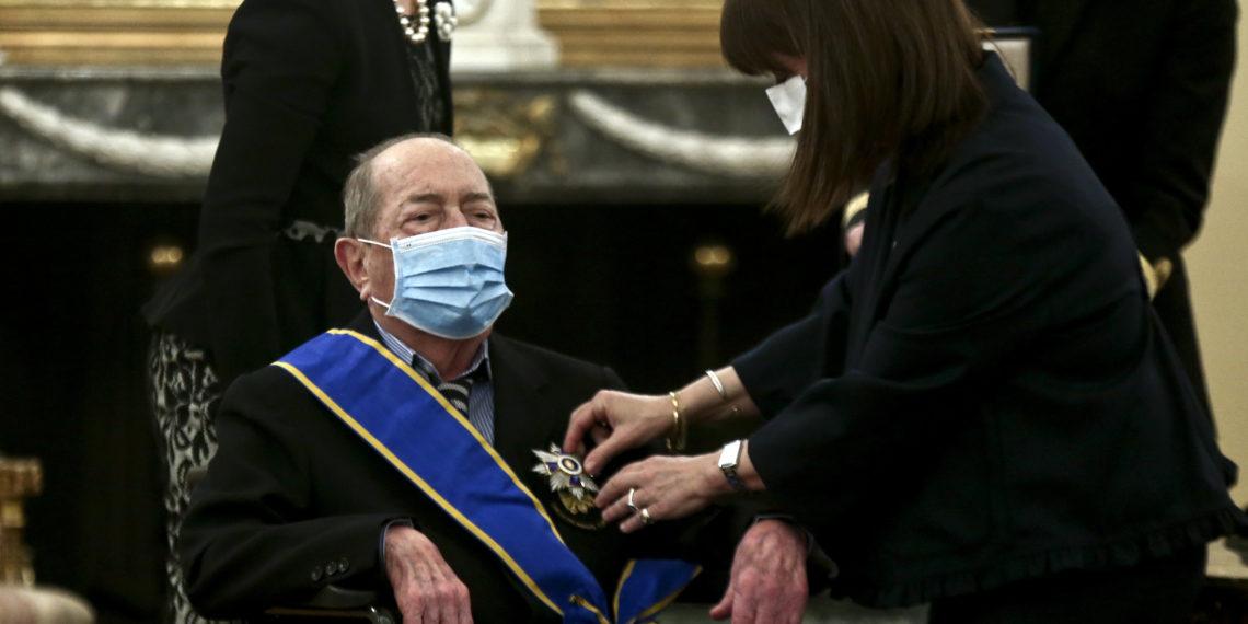 Απεβίωσε ο Ιάκωβος Τσούνης – Ο εθνικός ευεργέτης που δώρισε την περιουσία του στις Ένοπλες Δυνάμεις