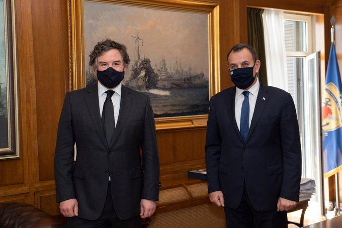 «Μυστήρια» συνάντηση Παναγιωτόπουλου με τον Βρετανό Υπουργό Αμυντικών Εξοπλισμών
