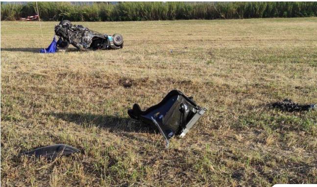Τραγωδία στο Αγρίνιο: Το κοντέρ «έγραφε» περίπου 250 χλμ./ώρα όταν το αυτοκίνητο ξέφυγε της πορείας του