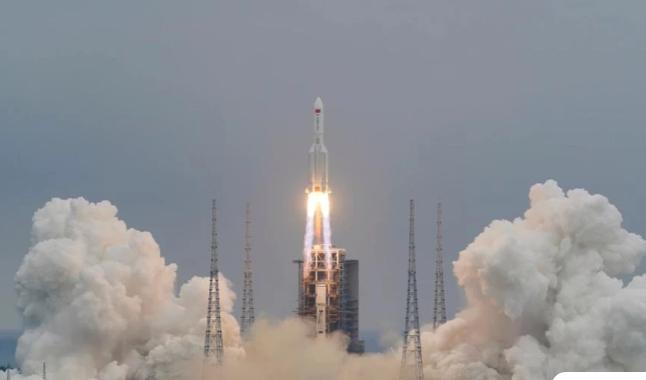 Κοντά στον Ινδικό Ωκεανό έπεσε ο κινεζικός πύραυλος