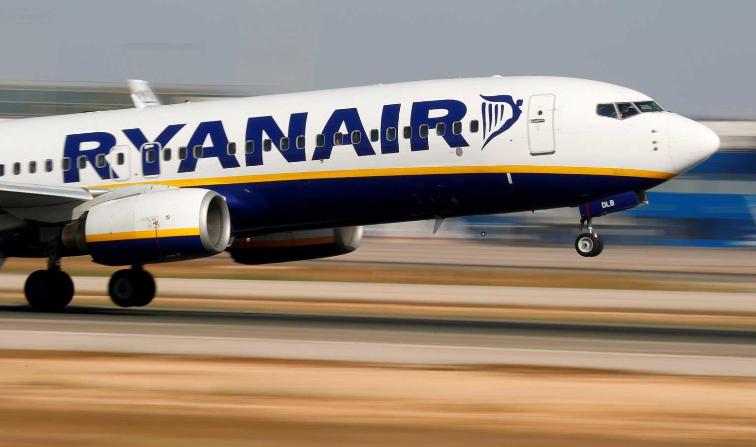 Η πτήση της Ryanair απογειώθηκε από το Μινσκ με προορισμό το Βίλνιους