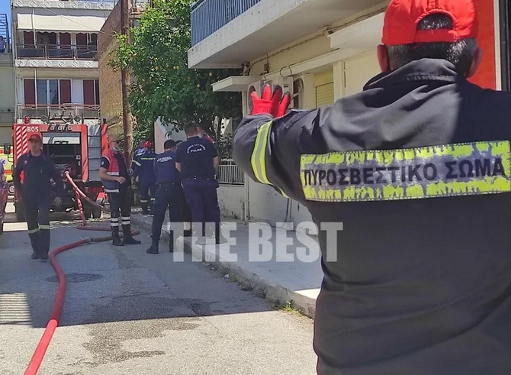Πάτρα: Νεκρή γυναίκα σε φλεγόμενο σπίτι – Πανικός μετά τη μεγάλη φωτιά στο διαμέρισμα (video)