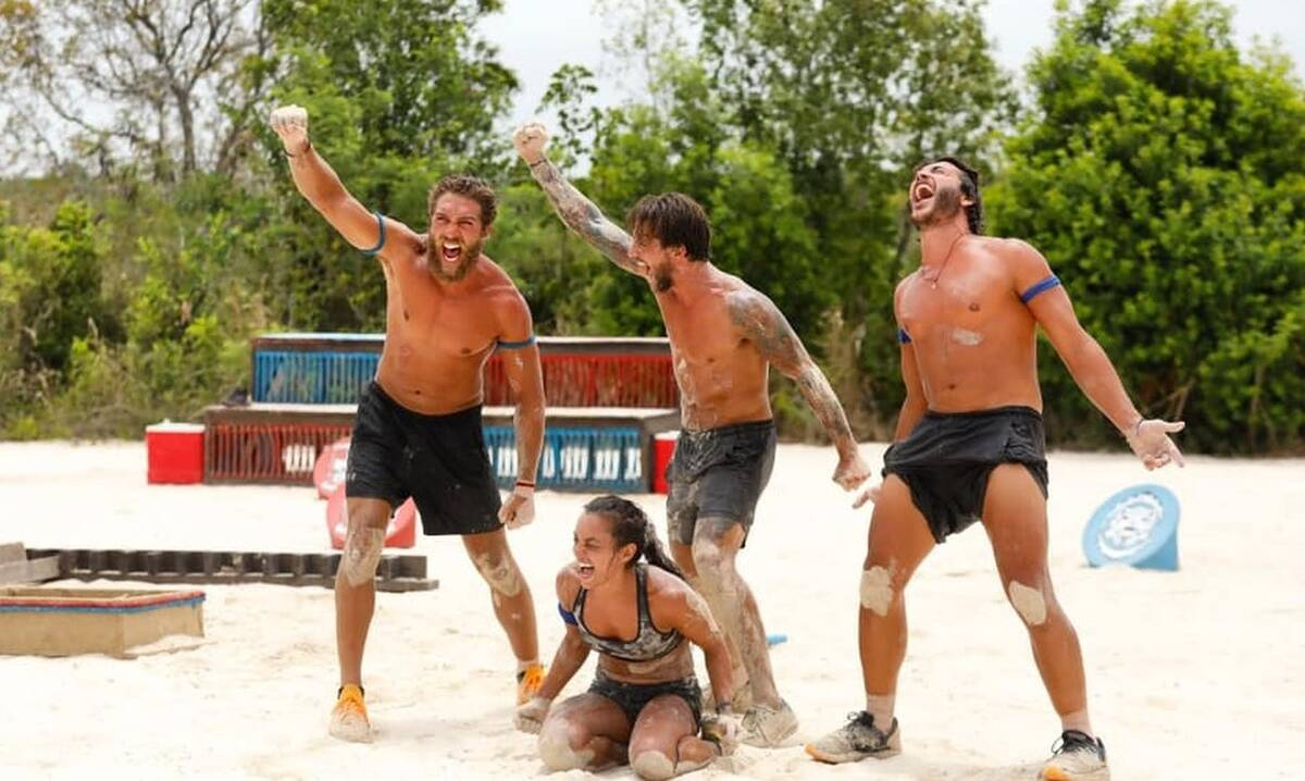 Survivor: Τα πέταξαν όλα στην παραλία – Οι μπλε… όπως τους γέννησε η μάνα τους!