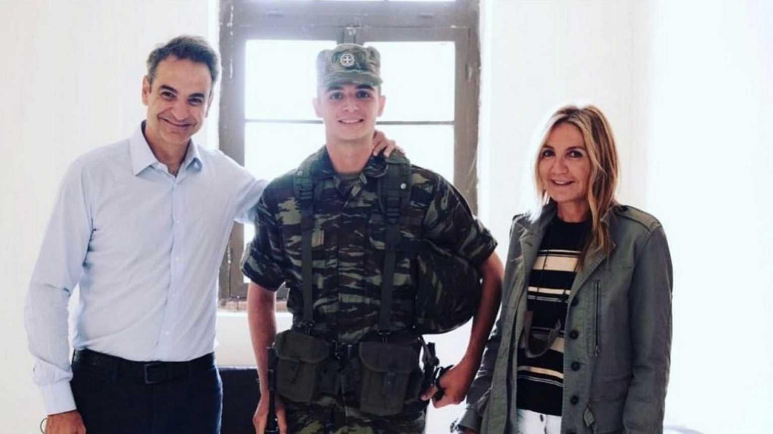 Κωνσταντίνος Μητσοτάκης: Θητεία τέλος – Απολύθηκε από τον στρατό