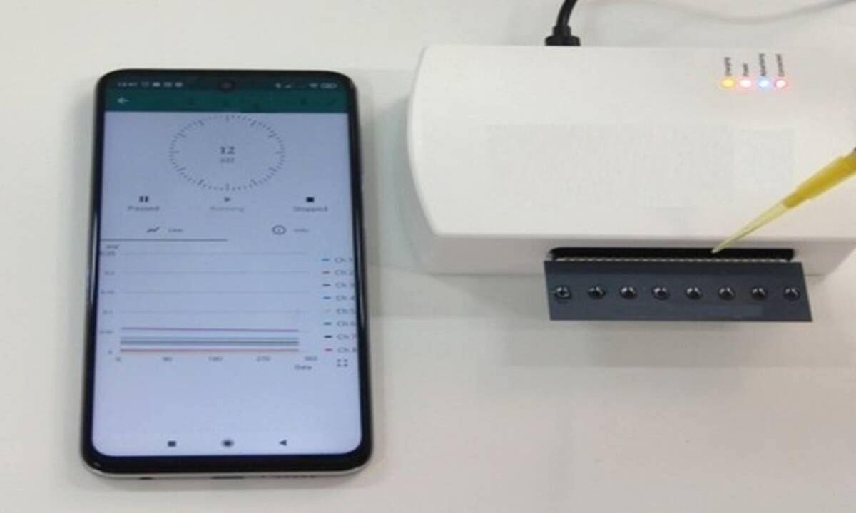 Πρωτοποριακό στιγμιαίο self-test κορονοϊού μέσω κινητού