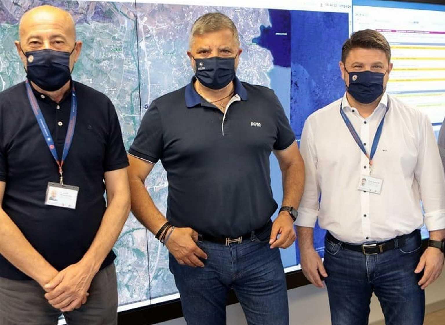 Συνάντηση Χαρδαλιά – Πατούλη για τα προληπτικά έργα πυροπροστασίας στην Αττική