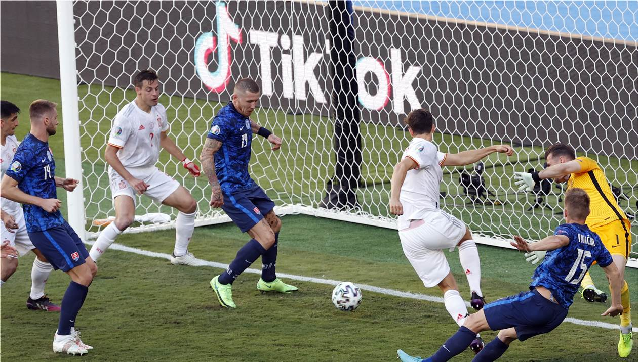 Euro 2020: Η Ισπανία έβαλε στα… δίχτυα τη Σλοβακία, νίκη-πρόκριση με 5-0!
