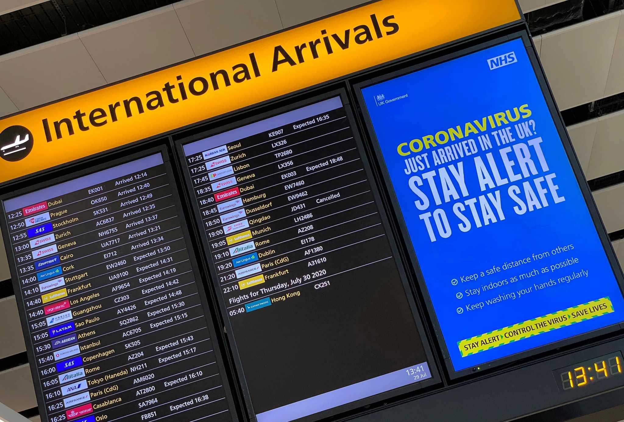 Η Ryanair βλέπει «ελεύθερες» μετακινήσεις σε Βρετανία – Ευρώπη από τον Ιούλιο και… μετά