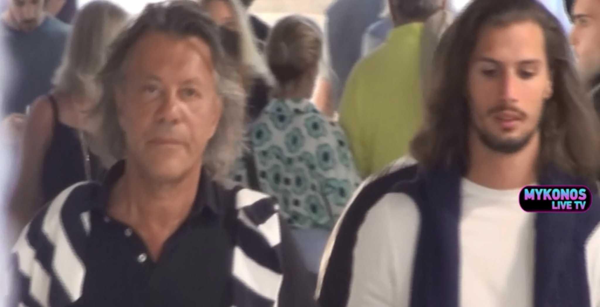 Στη Μύκονο για διακοπές ο Ηλίας Ψινάκης (video)