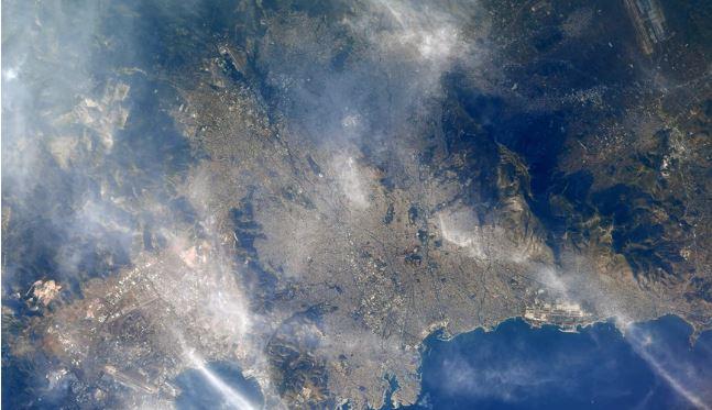Φωτογραφία της Αθήνας από το Διεθνή Διαστημικό Σταθμό – Το «κλικ» αστροναύτη της NASA