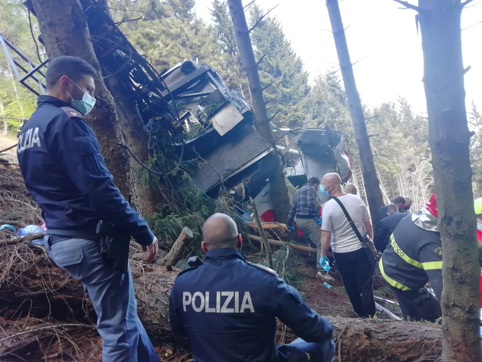 Πτώση τελεφερίκ στην Ιταλία: Βίντεο – ντοκουμέντο από την τραγωδία με τους 14 νεκρούς