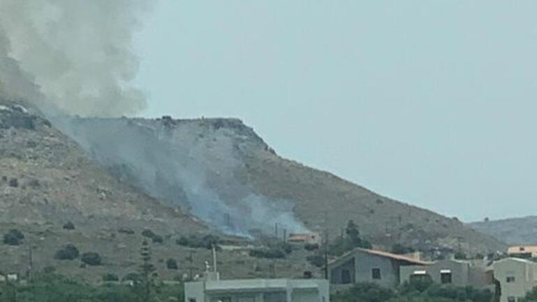 Κινητοποίηση της Πυροσβεστικής για φωτιά στις Γούβες – Βίντεο και φωτογραφίες