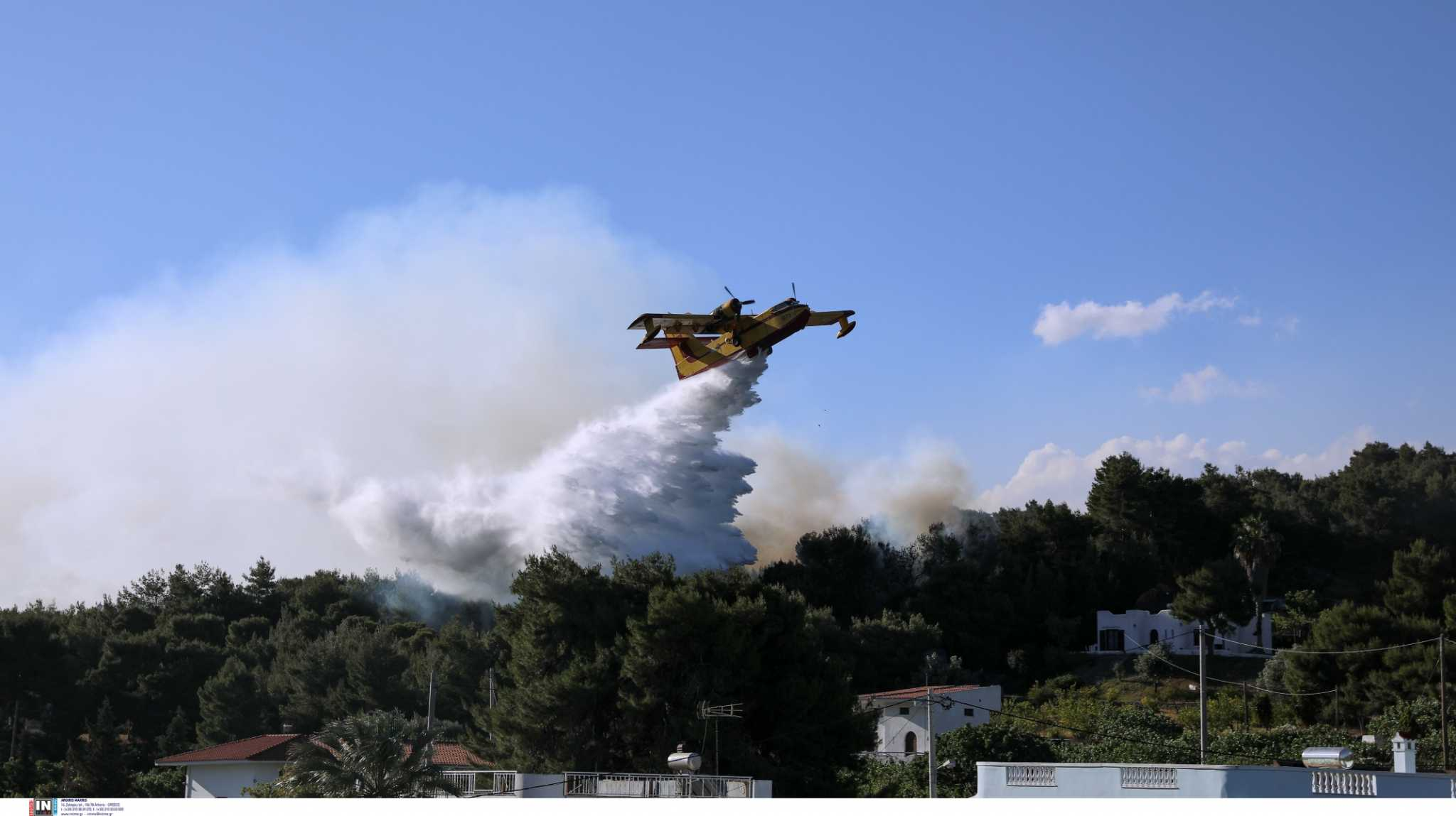 Καύσωνας – Πολιτική Προστασία: Πολύ μεγάλος ο κίνδυνος πυρκαγιών την Πέμπτη