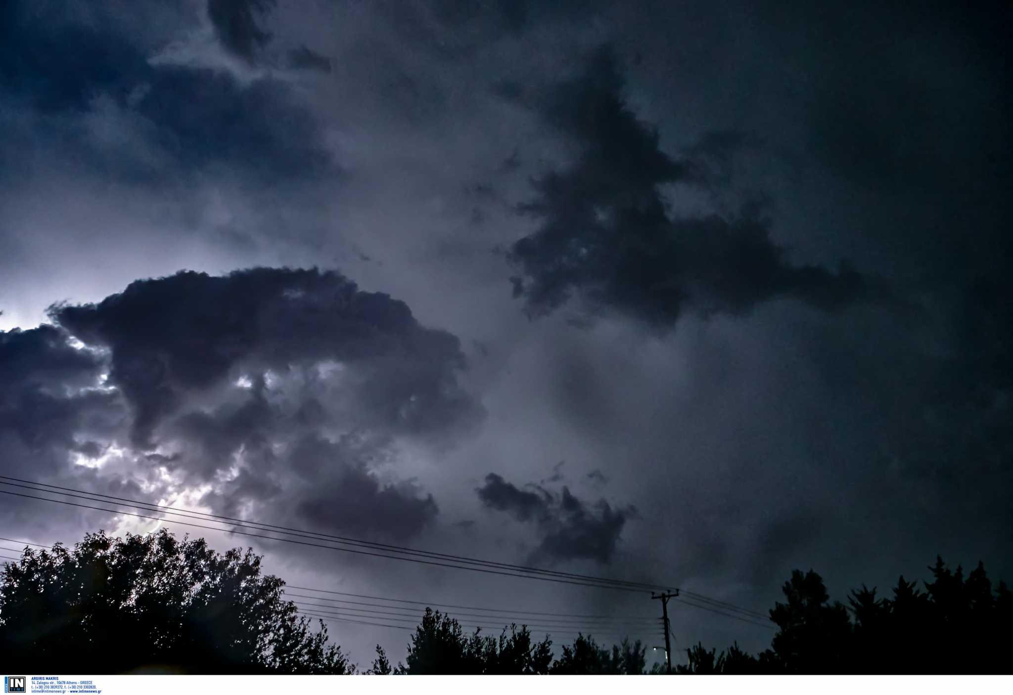 Καιρός: Έκτακτο δελτίο επιδείνωσης – Καταιγίδες, χαλάζι και κεραυνοί
