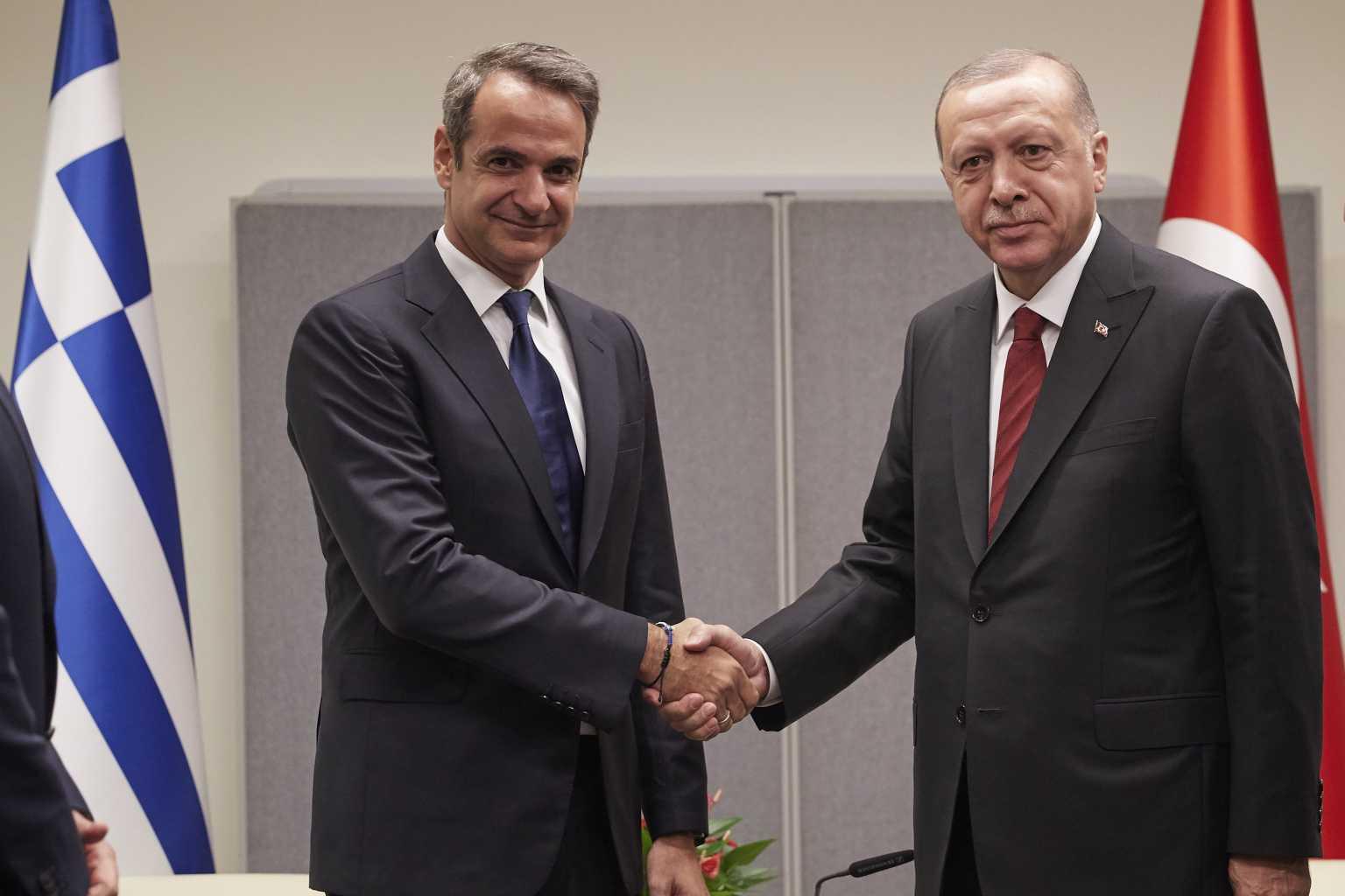 Μητσοτάκης – Ερντογάν: Και τώρα οι δυο τους