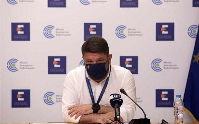 Ν. Χαρδαλιάς: Μόνο σε εξωτερικό συνωστισμό και εσωτερικούς χώρους υποχρεωτική η μάσκα από αύριο
