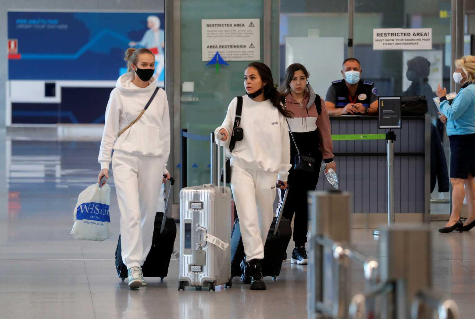 Αύξηση… 2.584% στα αεροδρόμια στις αφίξεις από εξωτερικό
