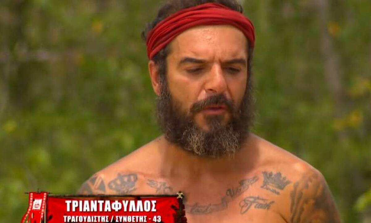 Survivor: Οι πρώτες δηλώσεις του Τριαντάφυλλου μετά την αποχώρησή του
