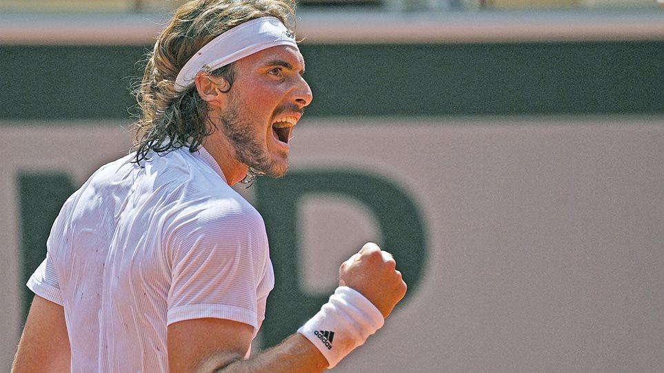 Roland Garros: Μυθικός Τσιτσιπάς προκρίθηκε στον τελικό