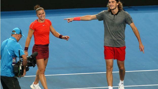 Και επίσημα Τσιτσιπάς και Σάκκαρη στους Ολυμπιακούς Αγώνες