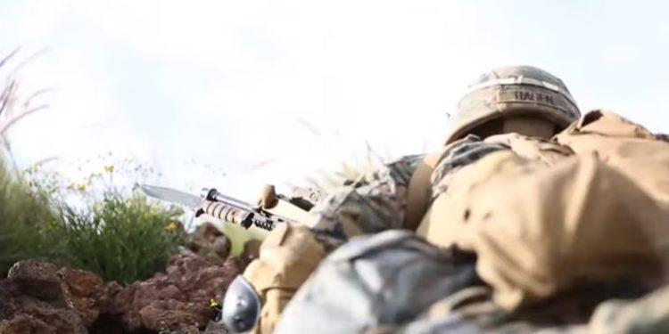 USMC: «Εφ' όπλου λόγχη» και επίθεση Αμερικανών Πεζοναυτών σε τρομερά πλάνα [vid]